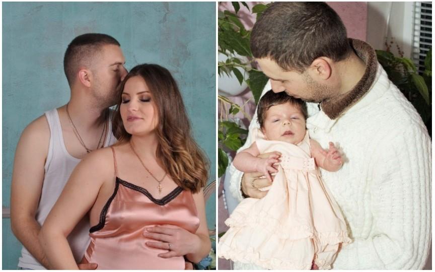 Soțul jurnalistei Irina Lencauțan despre sarcină și experiența de a asista la naștere