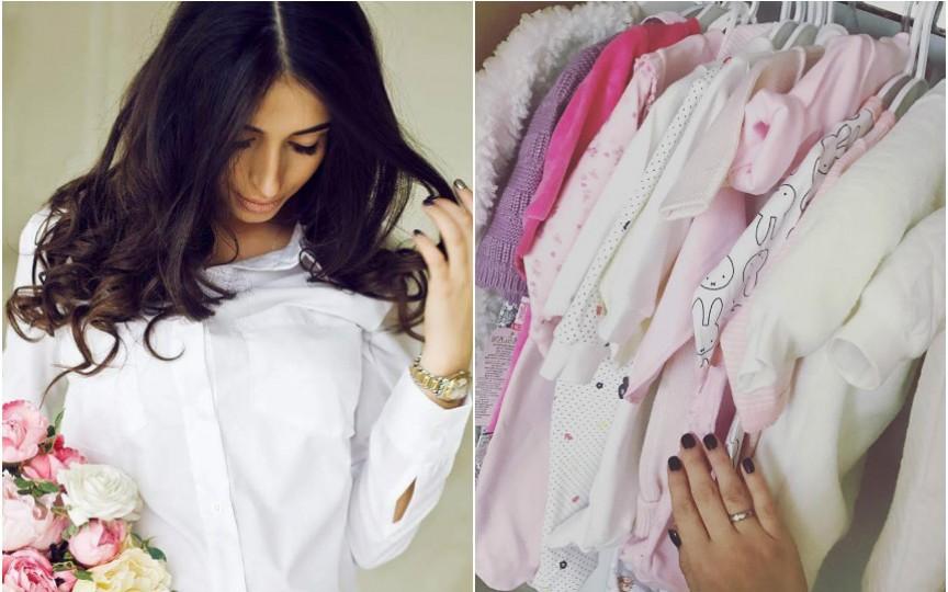 Ce garderobă i-a creat Elena Bivol fiicei sale de nici o lună!