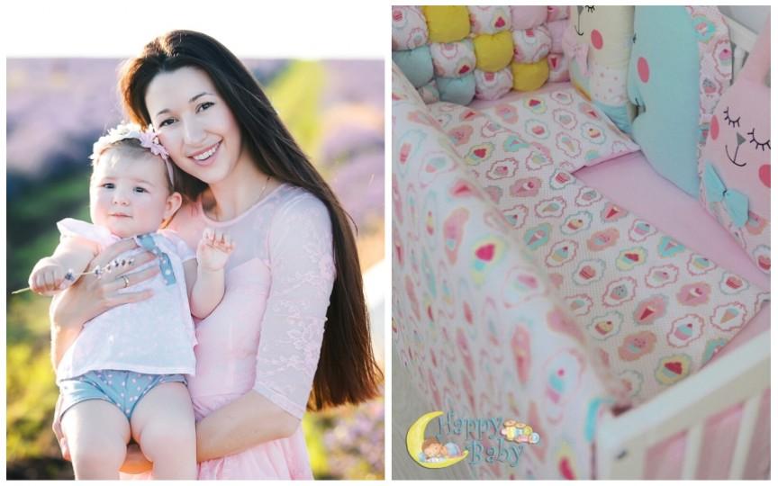 Povestea motivantă a unei mame din Moldova care a lansat o afacere gingașă chiar în primele săptămâni de sarcină