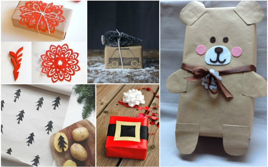 Idei originale de împachetare a cadourilor de sărbători