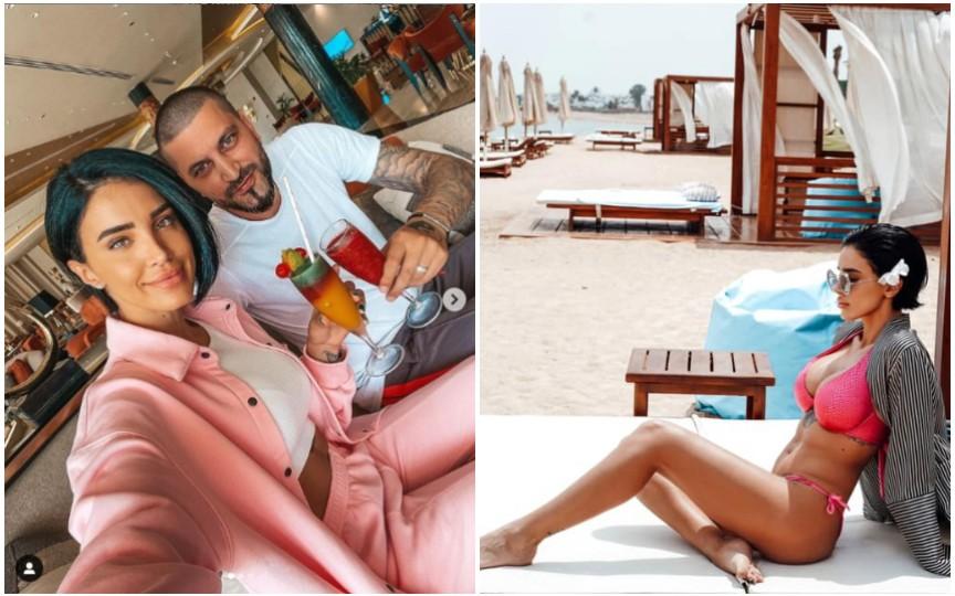 Adelina Pestrițu, noi imagini din vacanța de lux din Egipt