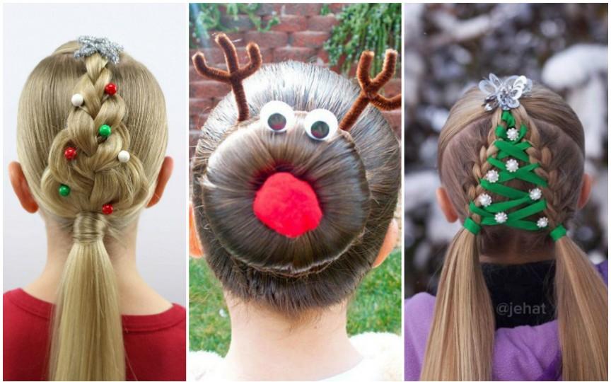 Idei inedite de coafuri pentru Crăciun sau Revelion