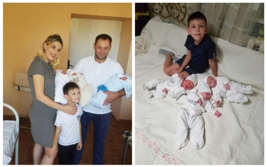 Moldovean, devenit recent tată de tripleţi, planifică să plece peste hotare pentru a-și putea întreține familia
