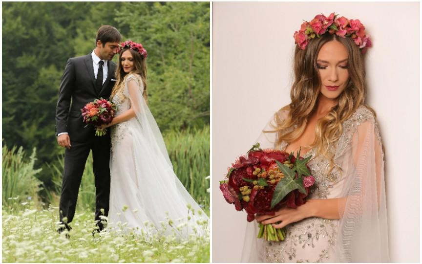 (FOTO) Radu Vâlcan și Adela Popescu își sărbătoresc nunta de fier