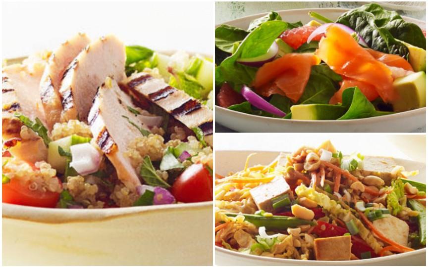 3 rețete de salate perfecte pentru primăvară