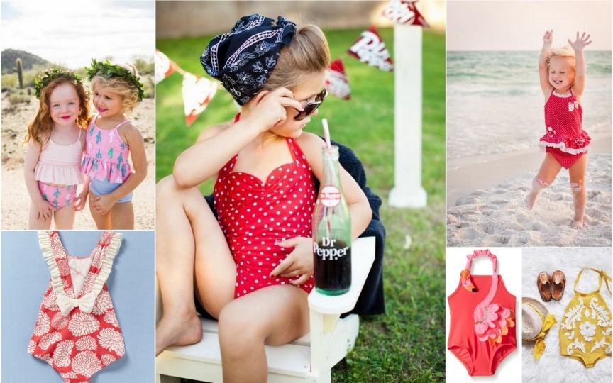 Cele mai frumoase COSTUME de BAIE pentru fetiţe