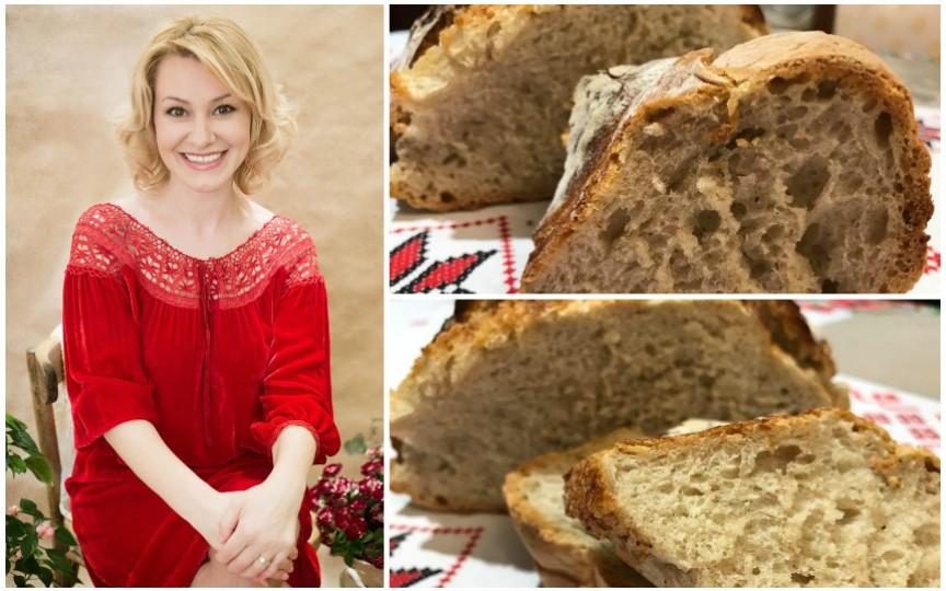Rețeta de pâine fără drojdie de la jurnalista Lorena Bogza