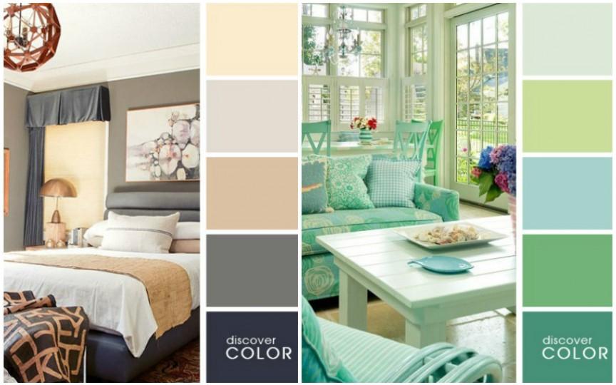 20 de combinații perfecte de culori pentru interiorul locuinței tale