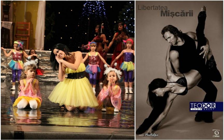 Teodor Dance Studio se redeschide! Află când e ziua Ușilor Deschise!