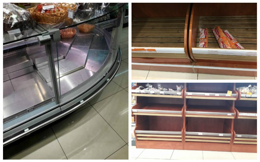 Prin magazine se înregistrează deficit de produse