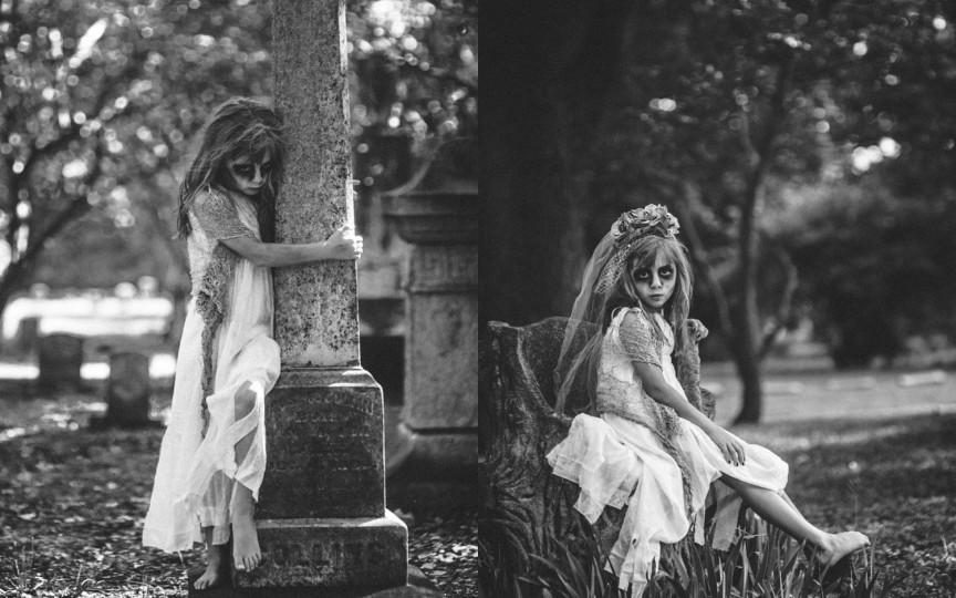 Idee de Haloween. Ce spui de o sesiune foto în cimitir?