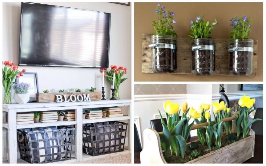 Aduceți primăvara în casă! Idei de decor cu tematică de primăvară
