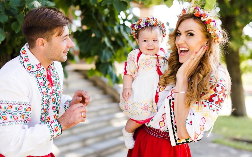 Tatiana Heghea a dezvăluit numele băiatului și cum s-a împăcat surioara cu gândul că nu e unica la părinți