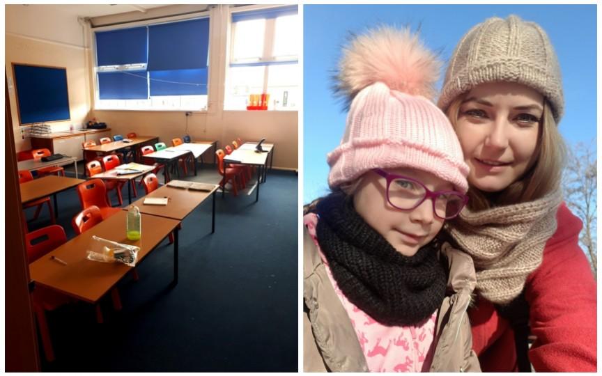 """O mamă din Moldova povestește despre """"primul sunet"""" la o școală din Anglia"""