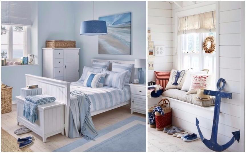 20 de idei creative pentru a decora casa în stil marin