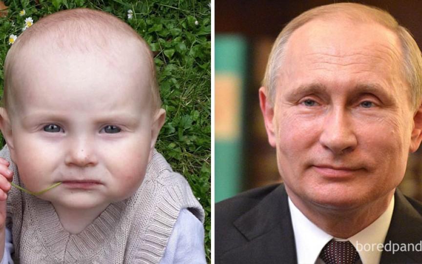 Copiii care seamănă cu vedetele: 12 imagini care te fac să zâmbeşti