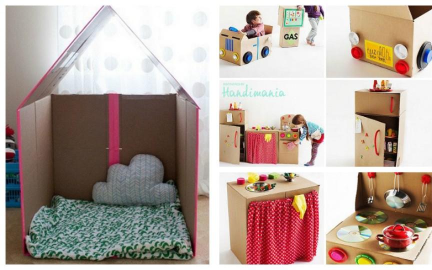 Construim jucării din cutii de carton