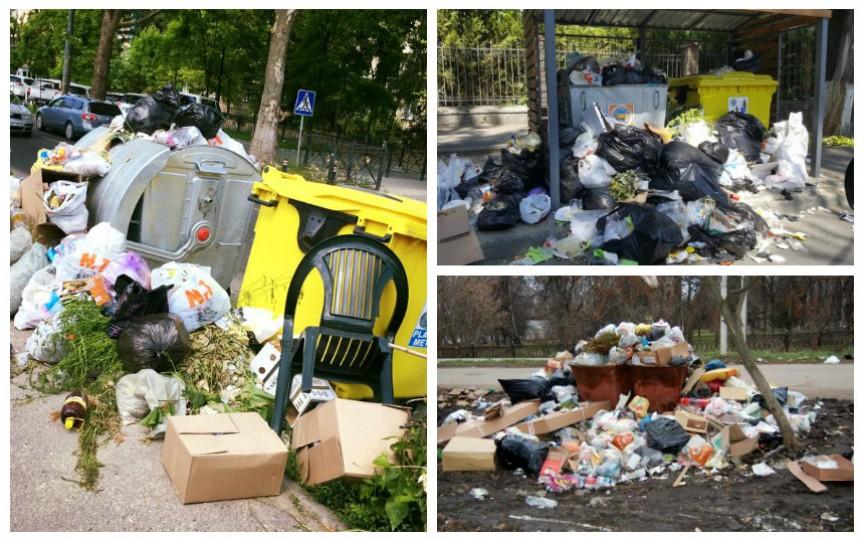 Capitala este inundată de gunoaie. Ce e de făcut?