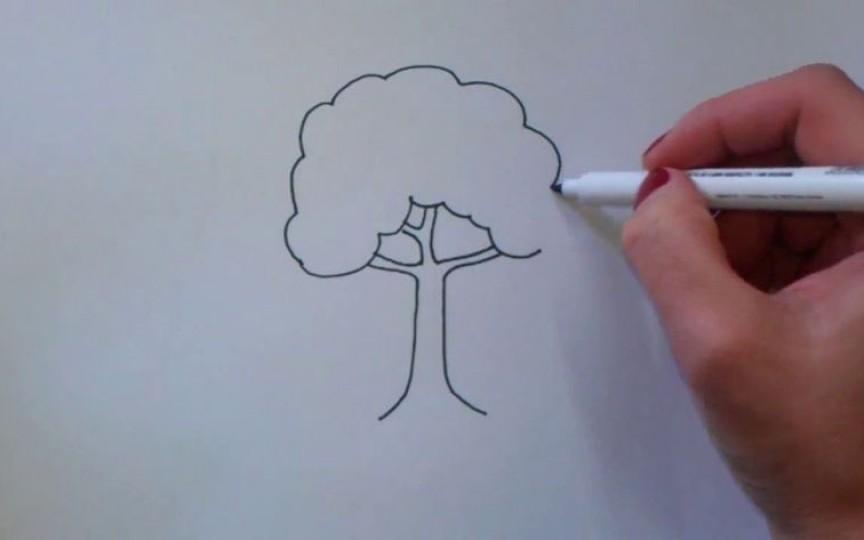 Test: Află totul despre personalitatea copilului. Pune-l să deseneze un copac şi interpretează desenul