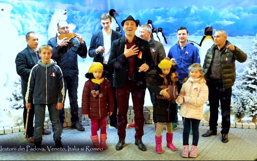 Mai mulți moldoveni de peste hotare au pregătit o urătură impresionantă pentru cei de-acasă