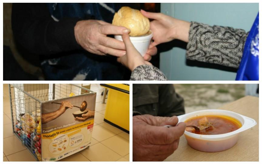 Diaconia a lansat campania tradițională de colectare a produselor alimentare în ajun de Paști