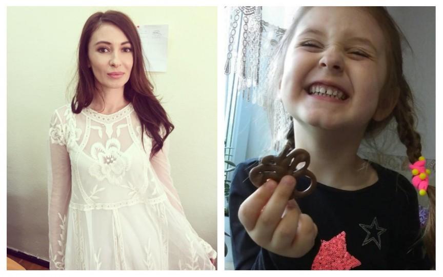 Ekaterina, fetița Angelei Gonța, a făcut astăzi 4 anișori