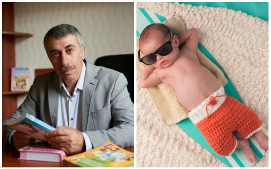 Evghenii Komarovskii oferă sfaturi cum să ajutăm bebelușii pe călduri mari