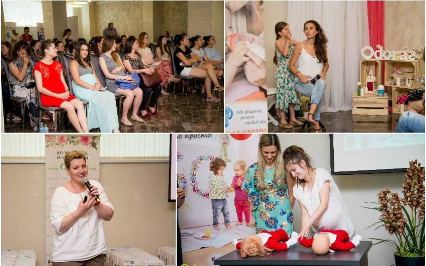 Zeci de mămici și graviduțe au participat la un eveniment deosebit! Vezi ce au făcut