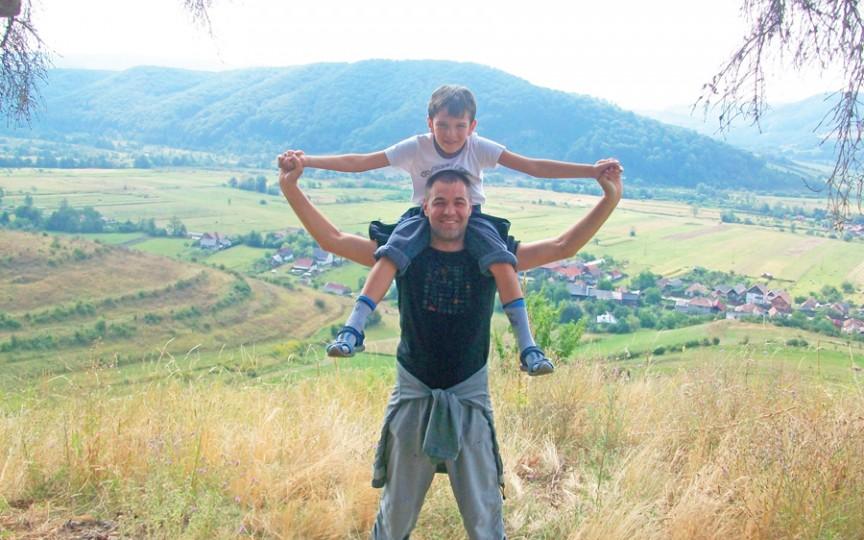 Octavian Ţîcu, despre fiul său: Andrieş începe să mă depăşească