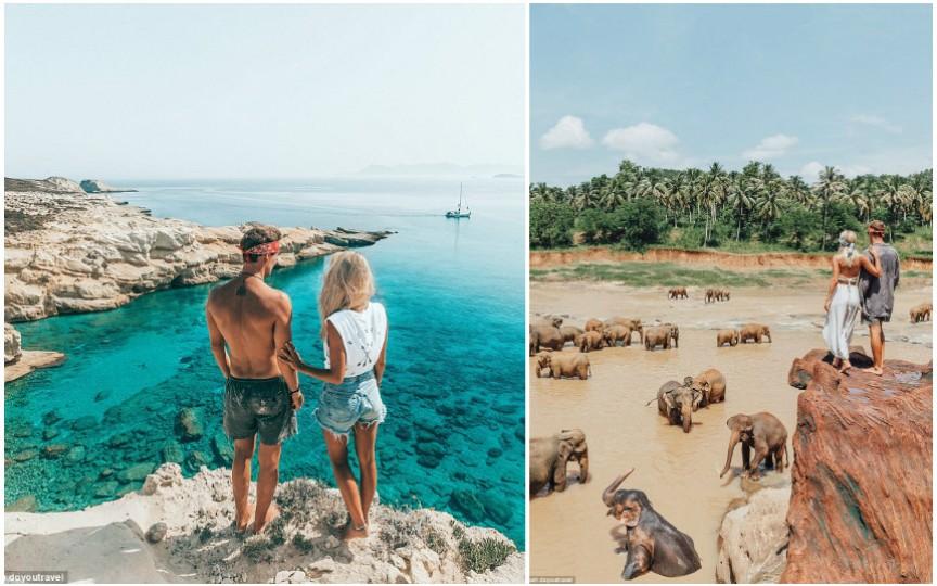 Istoria cuplului care este plătit cu 9000 de dolari pentru fiecare fotografie postată pe Instagram