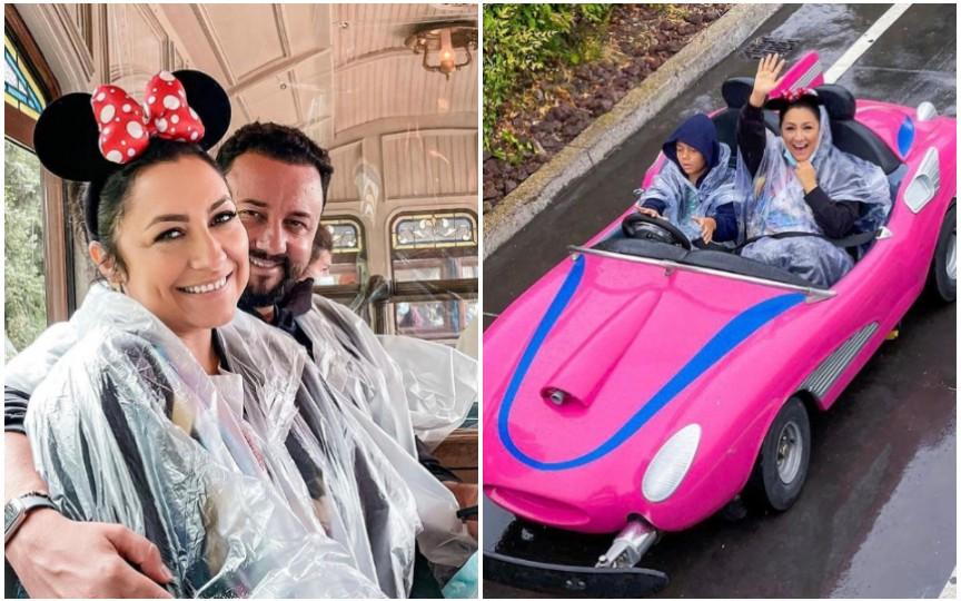 (FOTO) Familia Măruță, în vacanță la Disneyland Paris