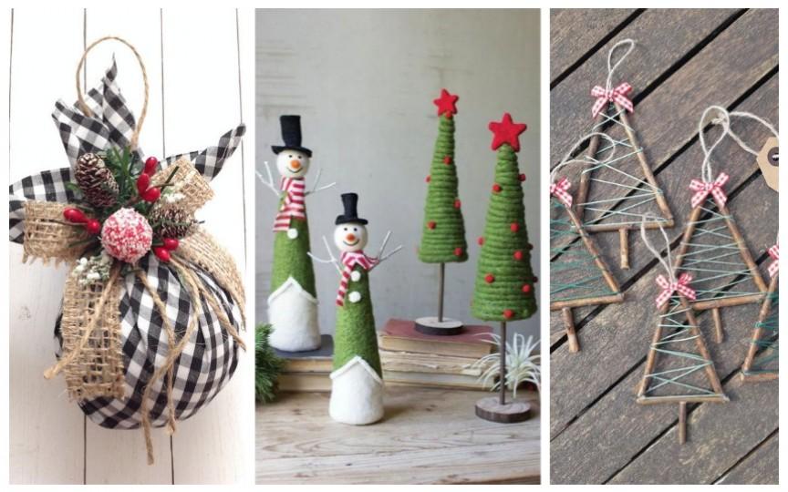 (FOTO) Creează împreună cu copilul decorațiuni originale cu tematica sărbătorilor de iarnă!