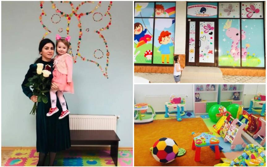 Povestea moldovencei care nu a găsit o creșă unde să-și dea copilul așa că a înființat ea una
