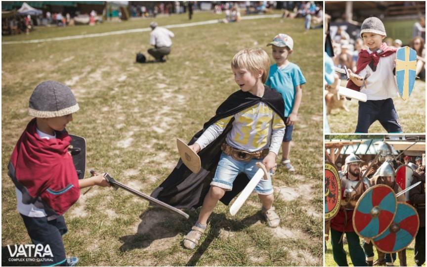 Vino cu copiii la Festivalul Medieval de la Vatra ca să participați la o adevărată lecție de istorie!