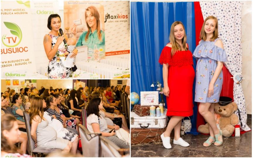 Eveniment unic la Chișinău: circa 200 de graviduțe și-au dat întâlnire la un Festival