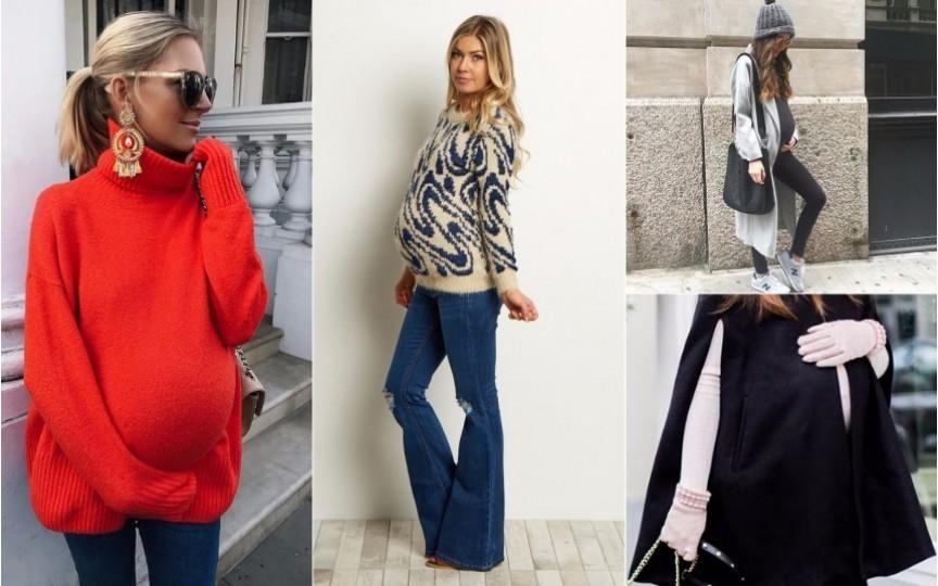 (FOTO) Graviduțele pot fi stilate și în sezonul rece
