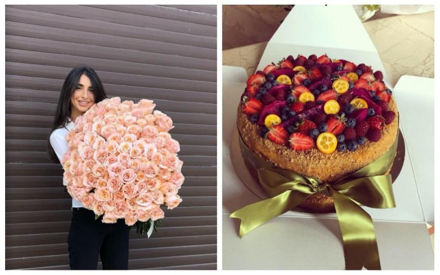 (FOTO) Creatoarea Elena Bivol a fost omagiată și nu a ezitat să arate și admiratorilor săi ce daruri a primit