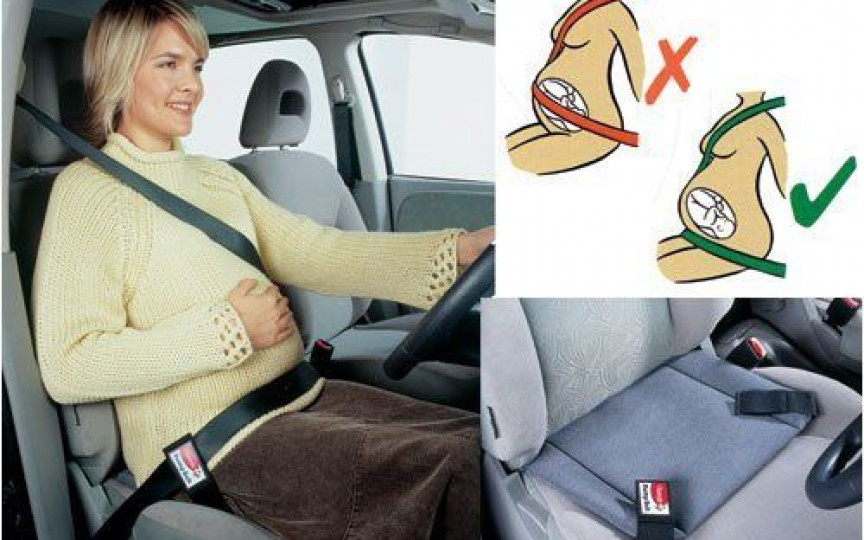 Cum îți protejezi burtica la volan