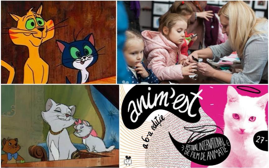 Dacă ai un copil pasionat de pisici și desene animate, mergi la ANIM'EST!