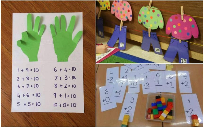 Metode interesante pentru a învăța cifrele și operațiunile matematice