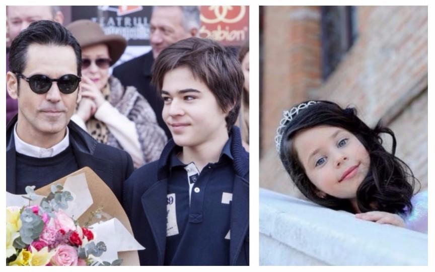 Cât de frumoși au crescut copiii lui Ștefan Bănică Jr.