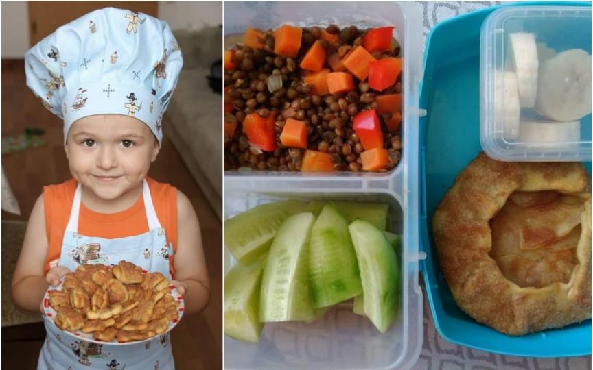 Moldoveanca ce își duce copilul la grădiniță cu mâncarea hipoalergenică la pachet