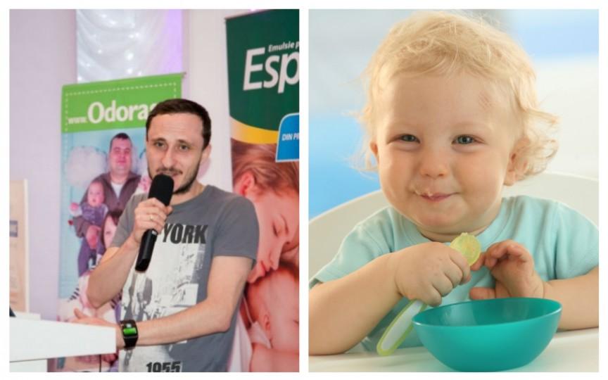 Mihai Stratulat vorbește despre alimentația copilului în primul an de viață