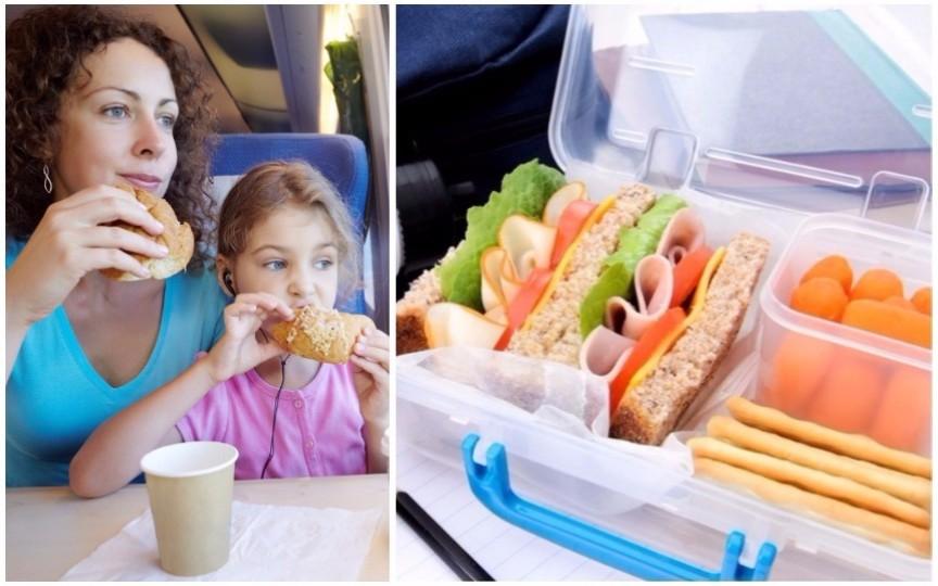 Idei de gustări sănătoase pentru copii în călătorie