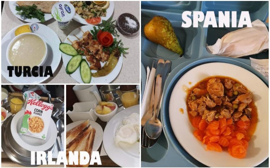 (FOTO) Cum arată mâncarea în maternitățile din țările europene