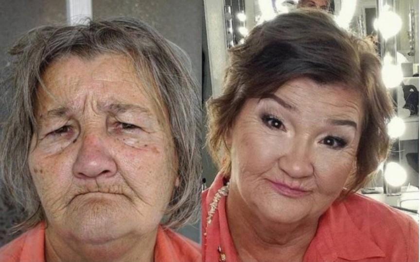 Un make-up artist reușește să întinerească femeile cu 20 de ani