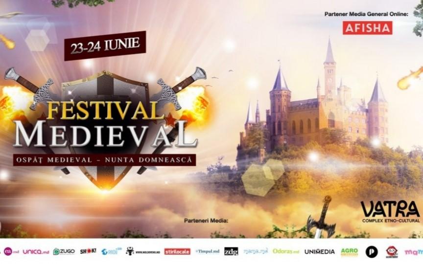 Nuntă Domnească la Festivalul Medieval 2018. Detalii din program!