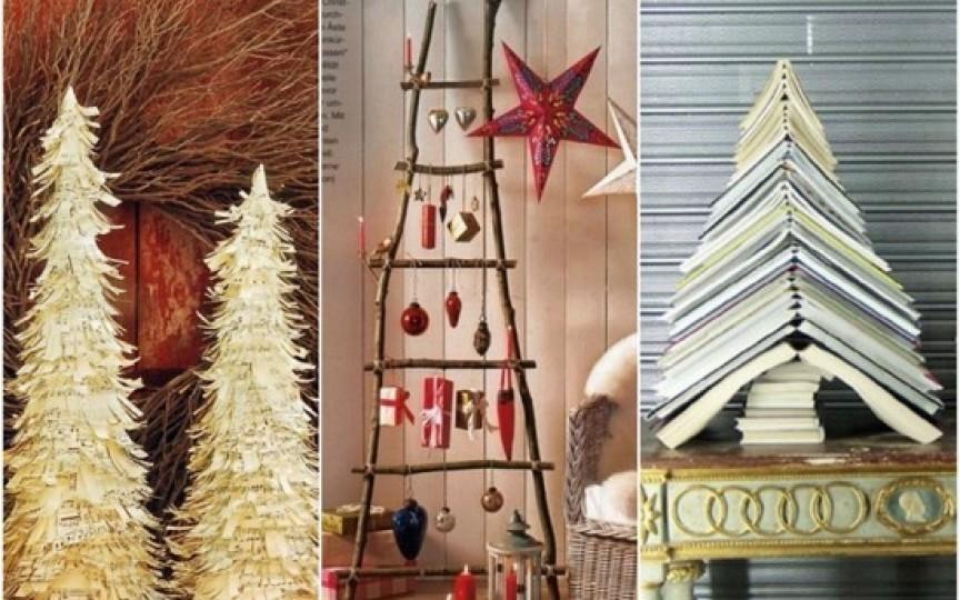10 idei: Cum să faci singură un brad original de Crăciun?