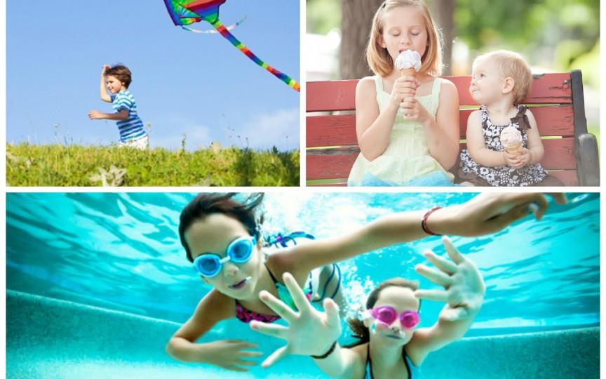 7 poze pe care să le faci copilului vara asta