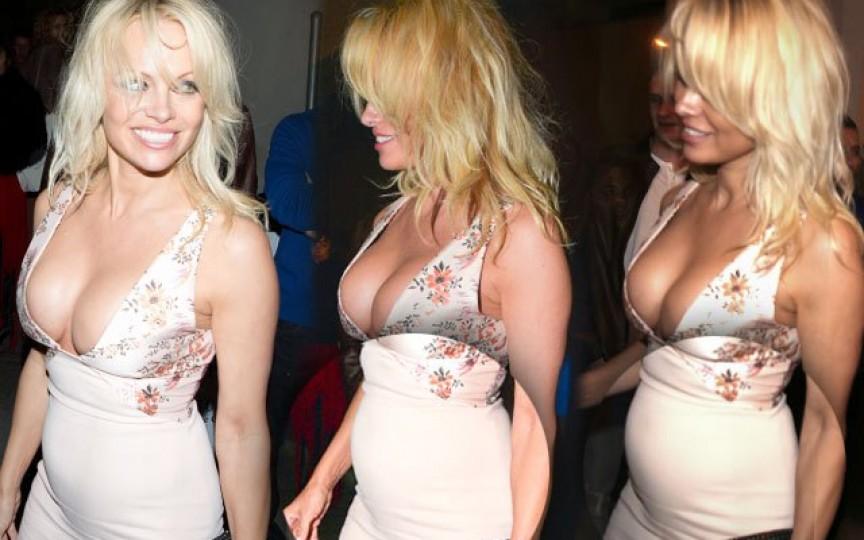 Pamela Anderson, însărcinată la 49 de ani?